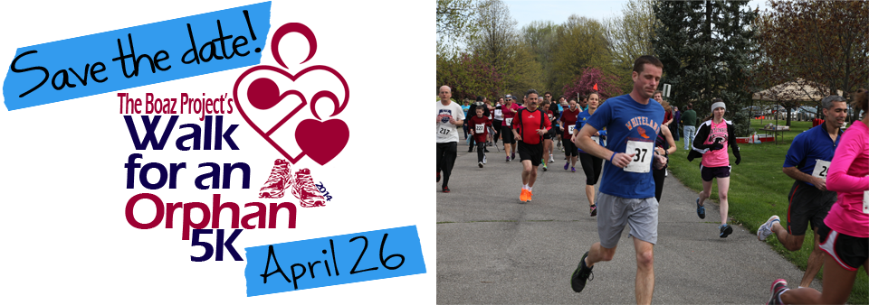Save the Date for Our 7th Annual Walk for an Orphan 5k