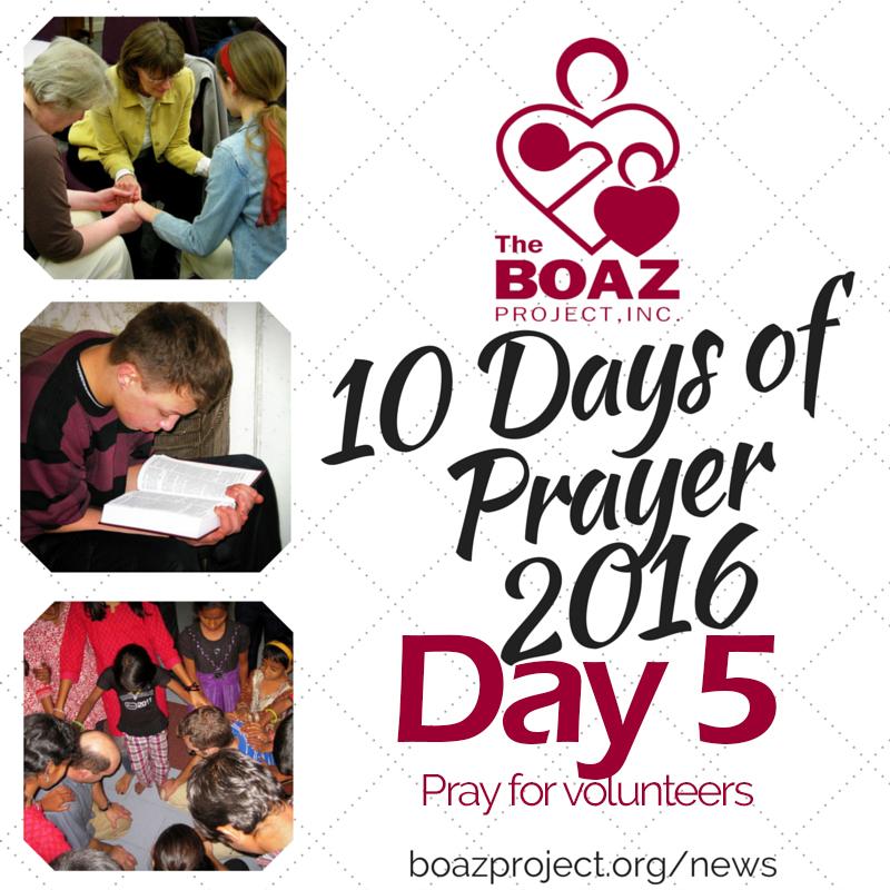 10 Days of Prayer – Day 5