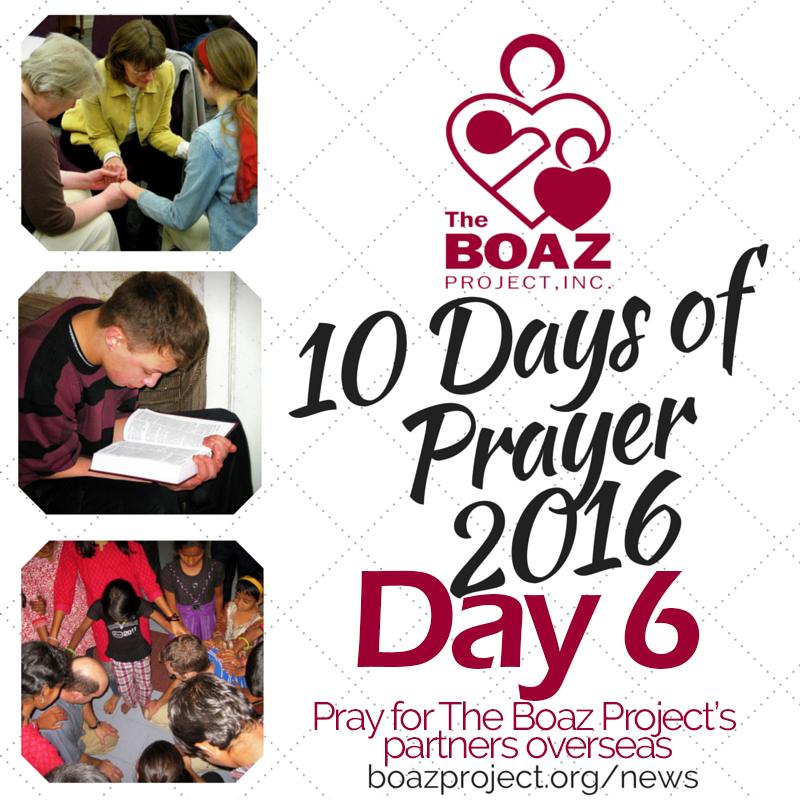 10 Days of Prayer – Day 6